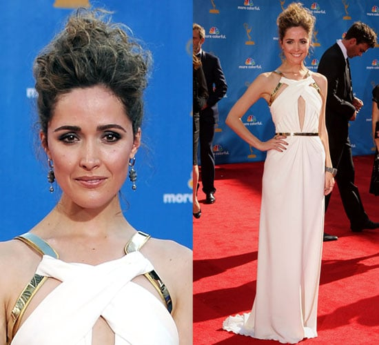 Rose Byrne in Gucci at 2010 Primetime Emmy Awards
