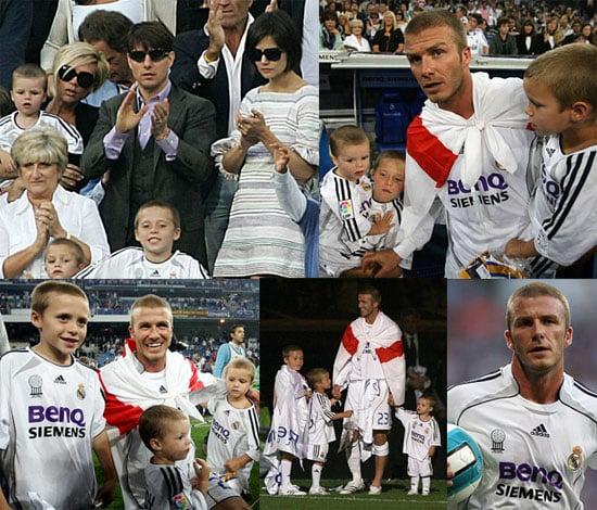Beckham Boys Bid Farewell To Real Madrid