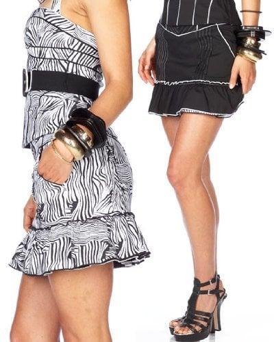Simply Fab: Bebe Reversible High-Waist Mini Skirt