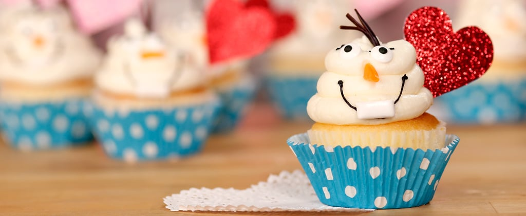 Olaf Cupcakes Will Melt Any Frozen Fan's Heart