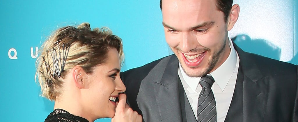 Kristen Stewart and Nicholas Hoult Can Barely Keep It Together on the Red Carpet