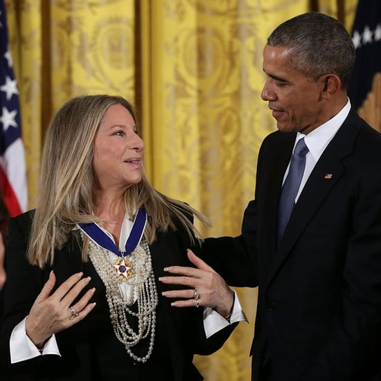 President Obama Awards Steven Spielberg and Barbra Streisand