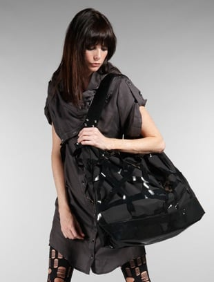 Esther Perbandt Black Vinyl Trim Bag: Love It or Hate It?