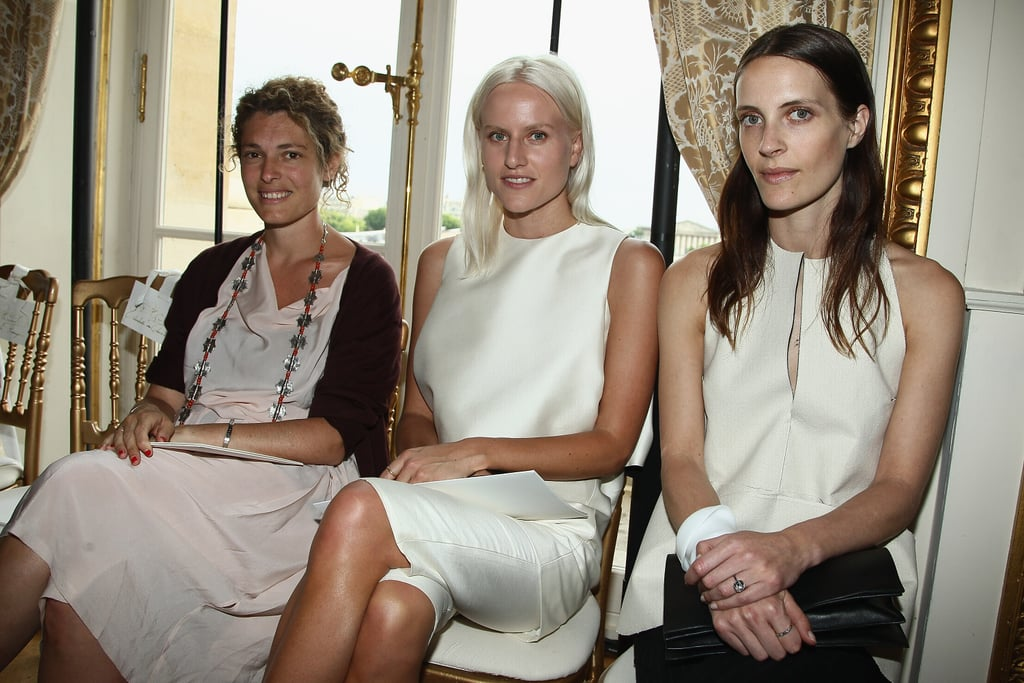 Ginevra Elkann, Olympia Scarry and Vanessa Traina