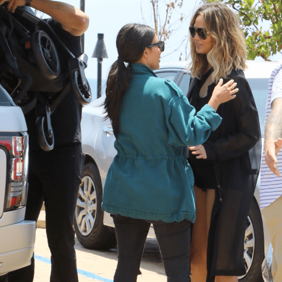 Kim Kardashian and Chrissy Teigen Out in LA May 2016