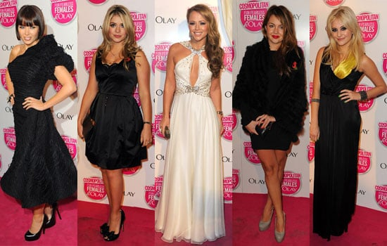 Photos of Dannii Minogue, Holly Willoughby, Kimberley Walsh, Pixie Lott at Cosmopolitan Ultimate Women Of The Year Awards 2009