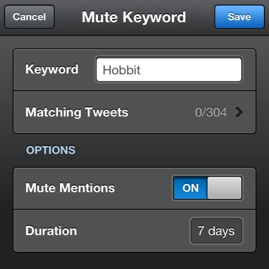 Mute Twitter Followers