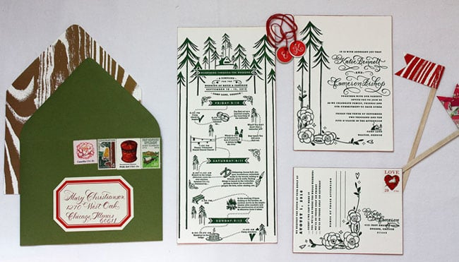 Camp-Themed Paper Goods