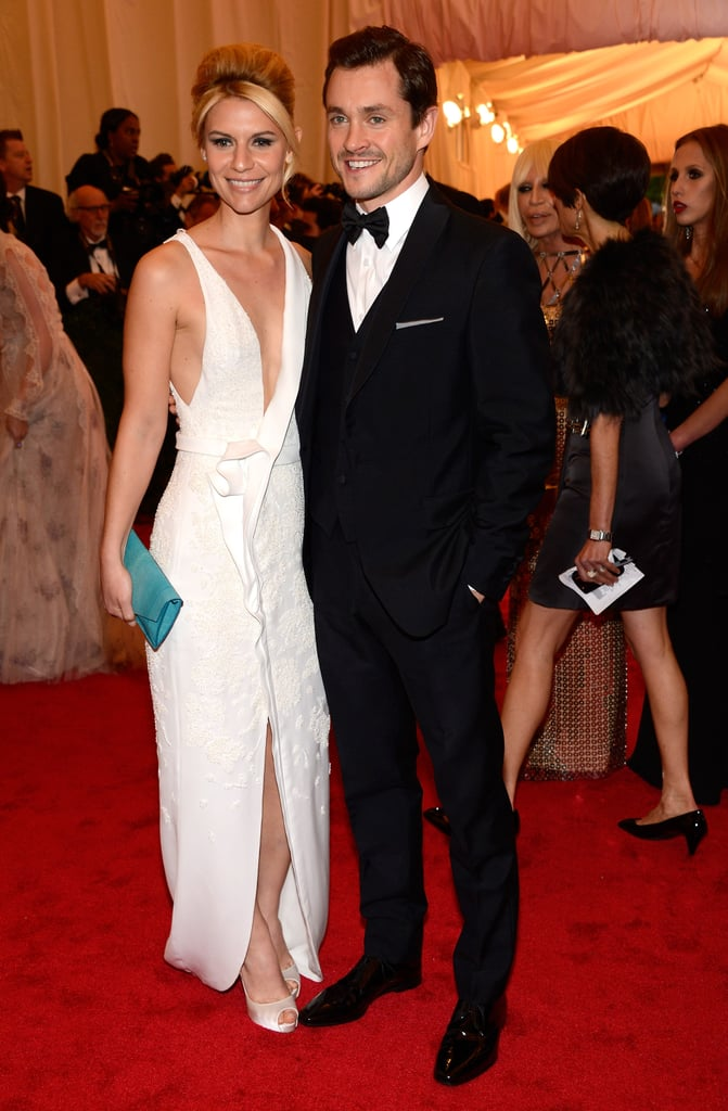 Claire Danes stepped onto the red carpet at the Met Gala with Hugh Dancy.