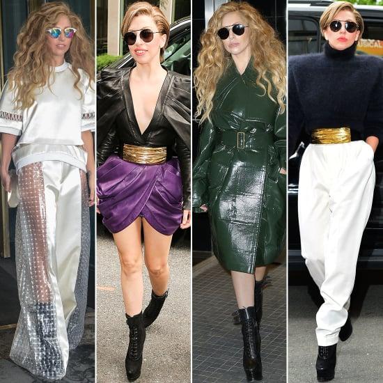 Lady Gaga Applause Promo Looks