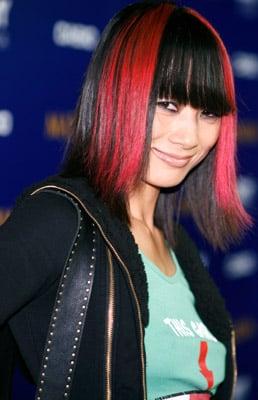 Love It or Hate It? Bai Ling's Pink Streak