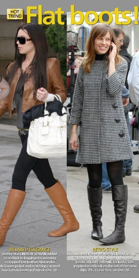 Celebrity Style: Flat Boots For Any Occasion