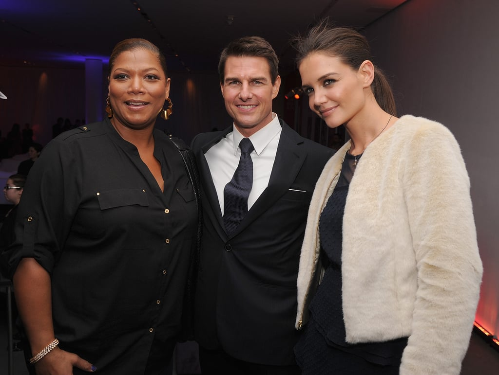 Queen Latifah was on hand to celebrate Tom Cruise's Mission: Impossible — Ghost Protocol premiere in NYC with Katie Holmes.