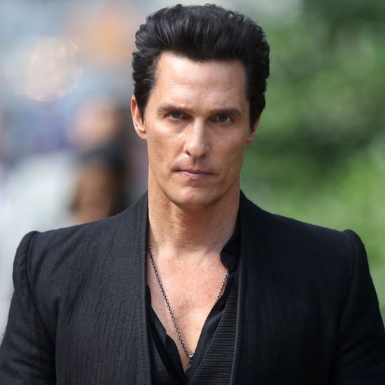 Matthew McConaughey on the Set of Dark Tower Pictures