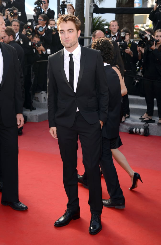 Robert Pattinson arrived at the On the Road premiere at the Cannes Film Festival.