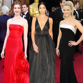 Condensed Sugar: Gorgeous Gowns & Guys at the Oscars