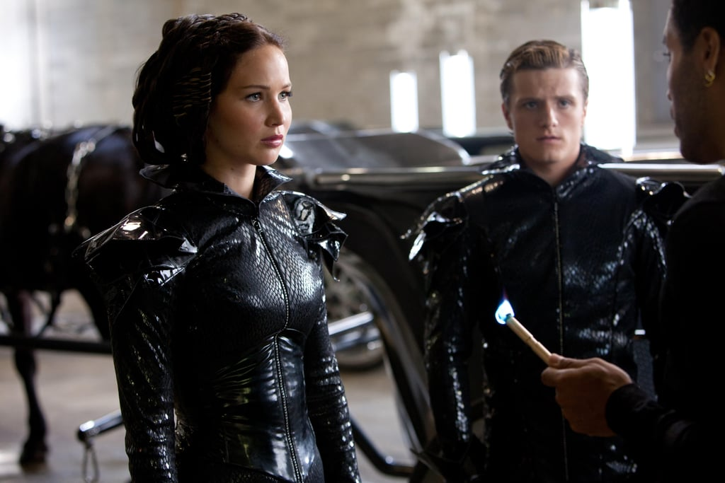 Katniss Getting Dressed for Success