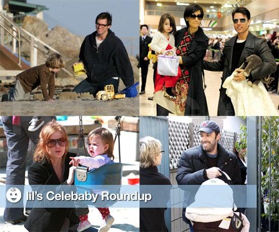Photos of Celebrity Babies, Including Seraphina Affleck
