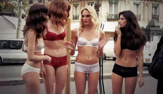 Etam Who? See The Etam Models On The Streeets Of Paris In Their Sexy French Knickers.