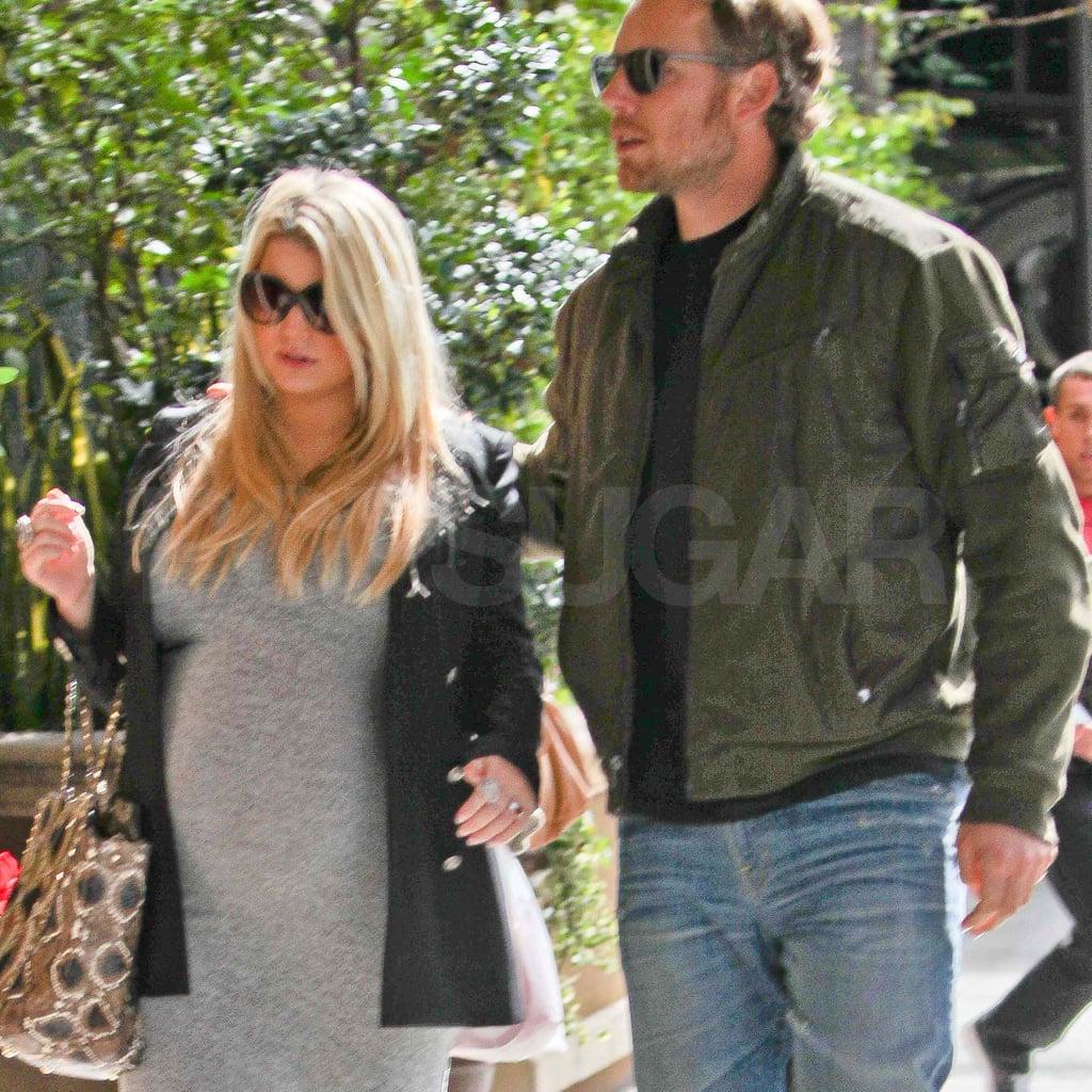 Jessica Simpson and Eric Johnson out in LA.
