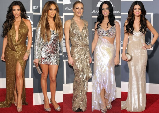 Pictures of Ladies on the 2011 Grammys Red Carpet 2011-02-14 00:45:01