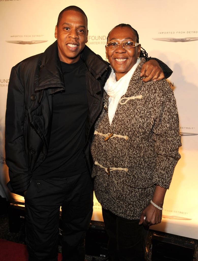 Jay Z and Gloria Carter
