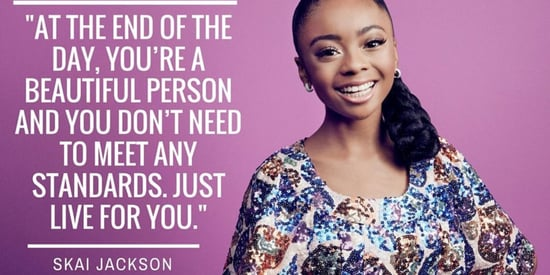 Skai Jackson On Internet Haters: 'I'm Just Rooting For Myself'