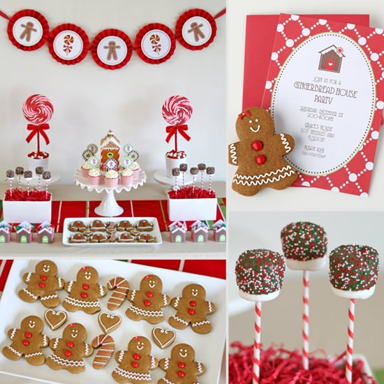 Glorious Winter Centerpiece : Gingerbread decorating party for kids popsugar moms