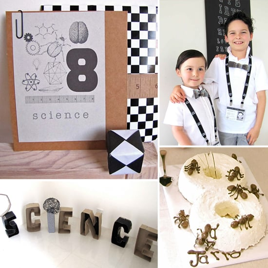 A Science-Inspired Birthday For a Lucky Little Professor