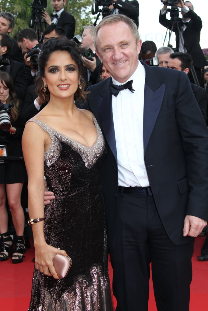 Salma Hayek and Francois-Henri Pinault in 2012