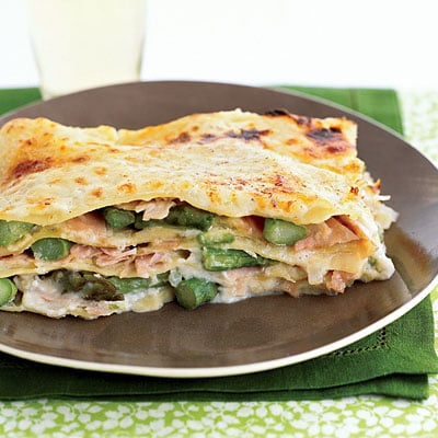 Fast and Easy Recipe For Asparagus and Ham Lasagna