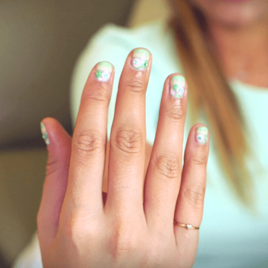 A DVF-Inspired Nail Art Look