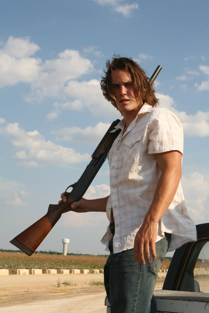 And also, his guns (as in, those arms) . . .