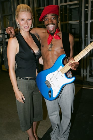 Gwyneth-Paltrow-bra-peeked-out-her-vest-when-she-posed