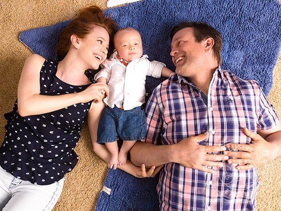 Inside Amy Davidson's Nautical Nursery for Son Lennox: I 'Tend to Go Overboard' with the Anchor Theme