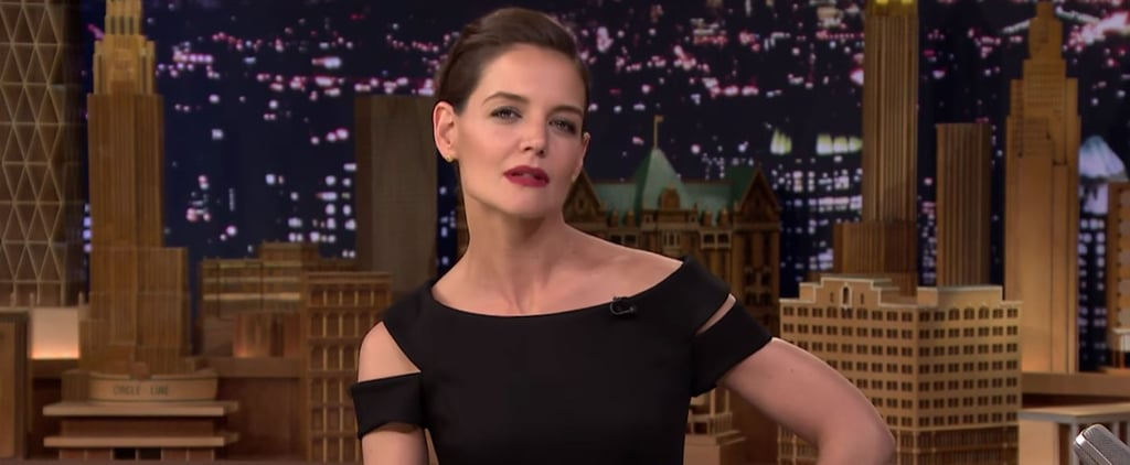 Katie Holmes Does Her Best Beyoncé Impression on National Television, Kinda Nails It