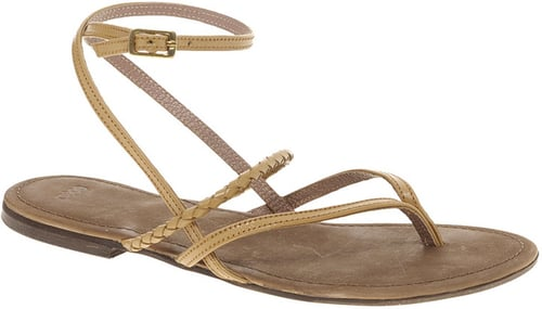 ASOS FLO Leather Flat Sandals