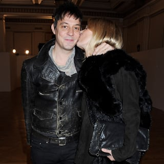 Kate Moss Kissing Jamie Hince in London
