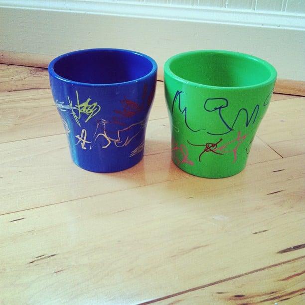 Decorate Pots