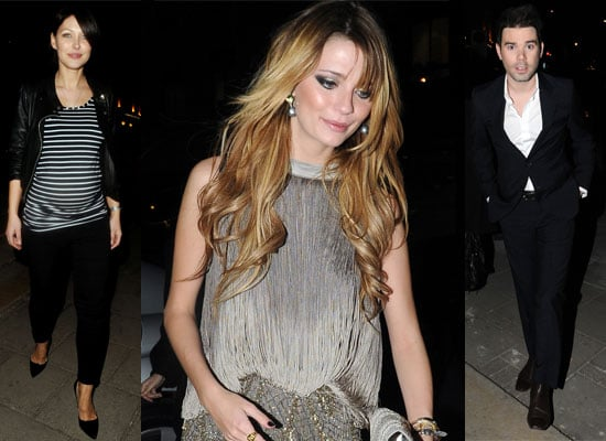 Photos Of Emma Griffiths, Mischa Barton and Dave Berry At The P&G Beauty Awards