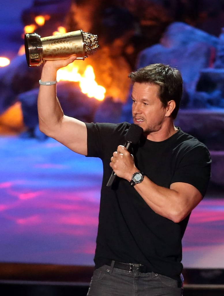 Most Confusing Acceptance Speech: Mark Wahlberg