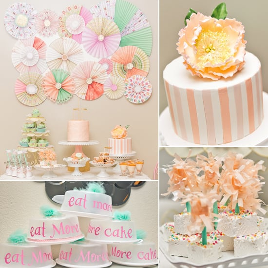 A Pretty Peach Bakery Shop Party