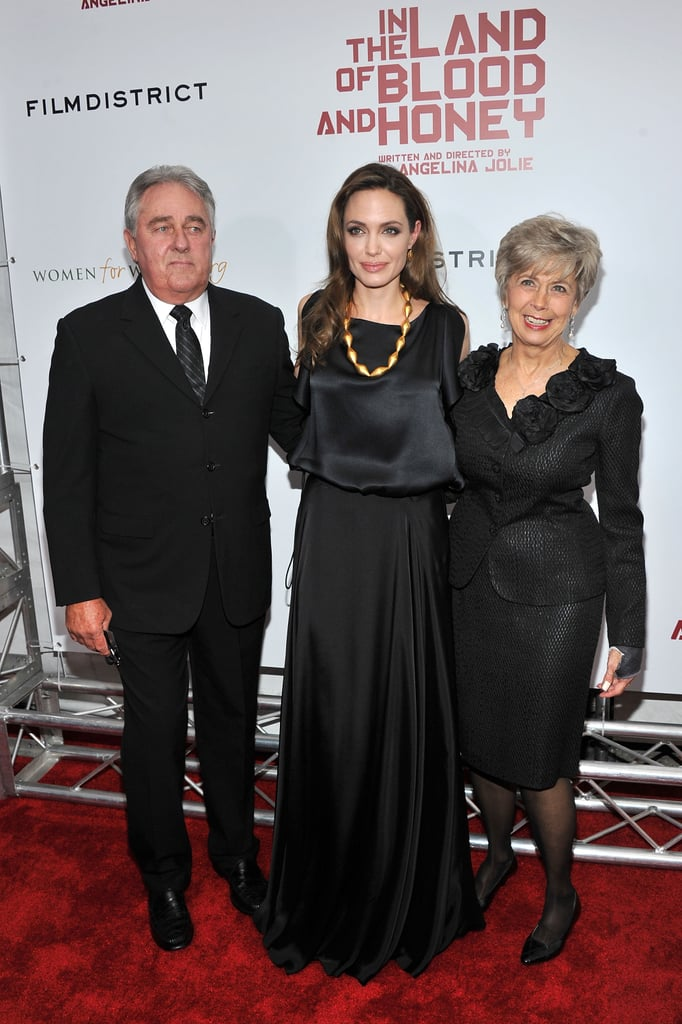 Bill and Jane Pitt accompanied Angelina Jolie to the premiere.