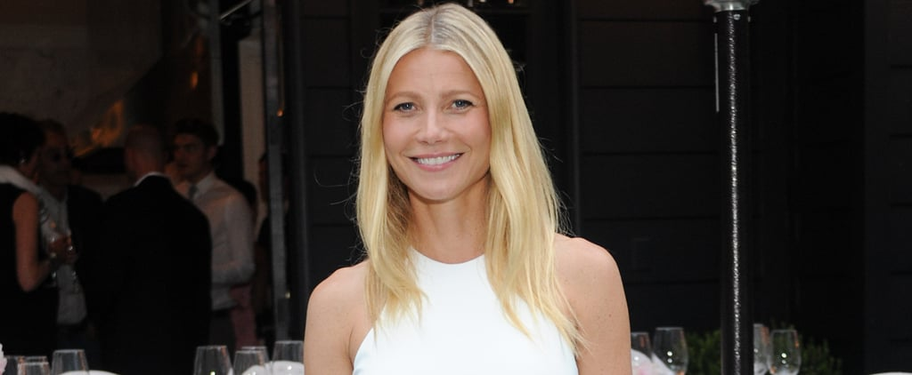 Gwyneth Paltrow Stuns While Supporting Her Designer Pal