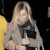 Pictures of Sienna Miller Out in London During Flare Path Rehearsals