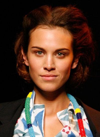 September 2008: Modelling for Vivienne Westwood Red Label