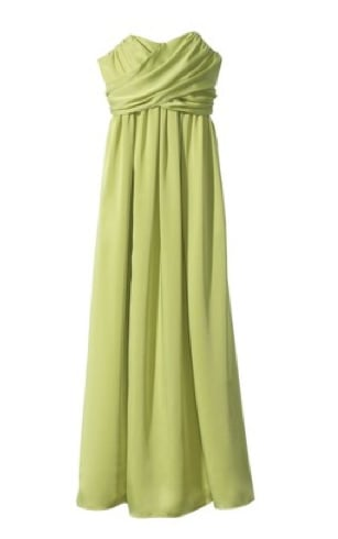 While you could easily pair this sweetheart-shaped strapless iteration with metallic sandals and go for beachy-chic, we think this could also be transformed into the perfect wedding guest dress, too, with just the inclusion of a statement necklace and slick sandals. Target Strapless Wrap-Front Chiffon Maxi Dress ($70)