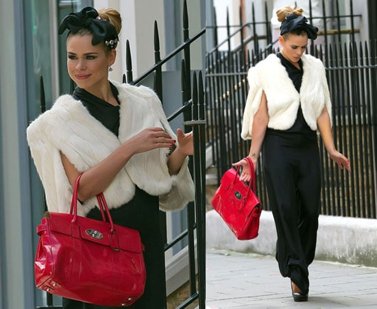 Pictures of Billie Piper Filming Secret Diary of a Call Girl Series Four in London as Sarah Harding Misses Out on Role