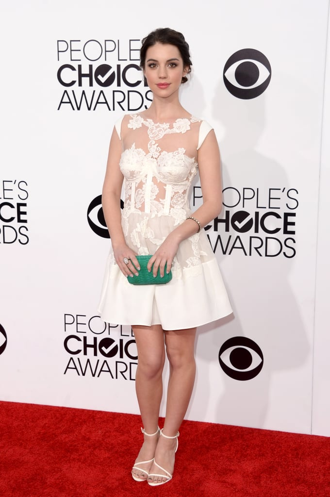 Adelaide Kane at the People's Choice Awards 2014