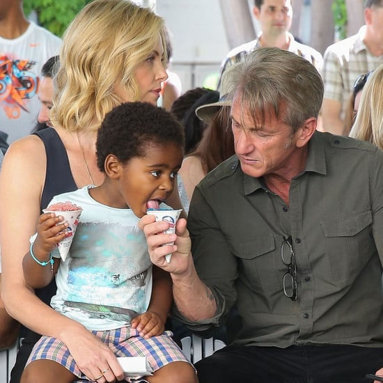 Charlize Theron and Sean Penn at Block Party Event in LA